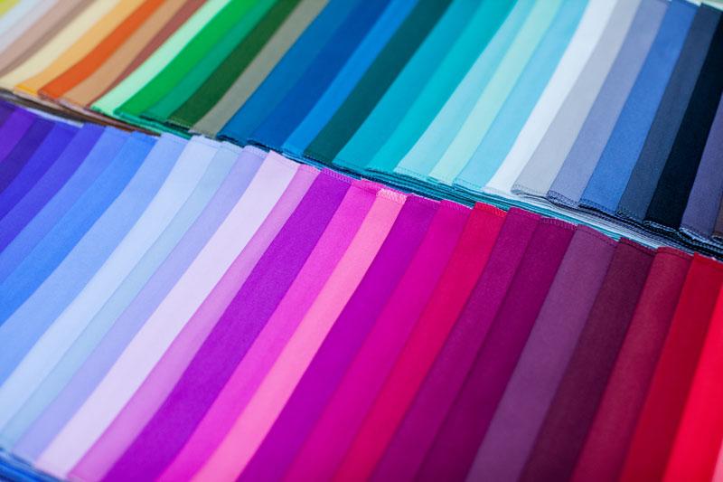 Платки для цветотестирования (дирекционный метод)