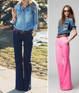 С чем и как носить джинсовую рубашку. Спроси стилиста