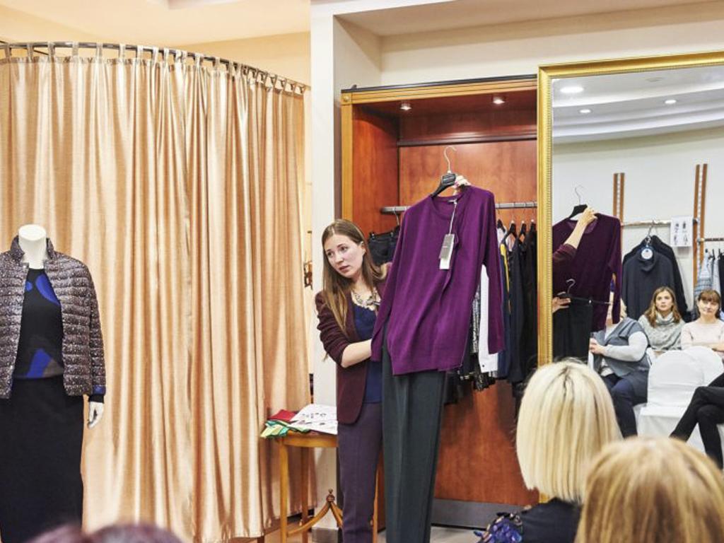 Клиентский день в Fashion town