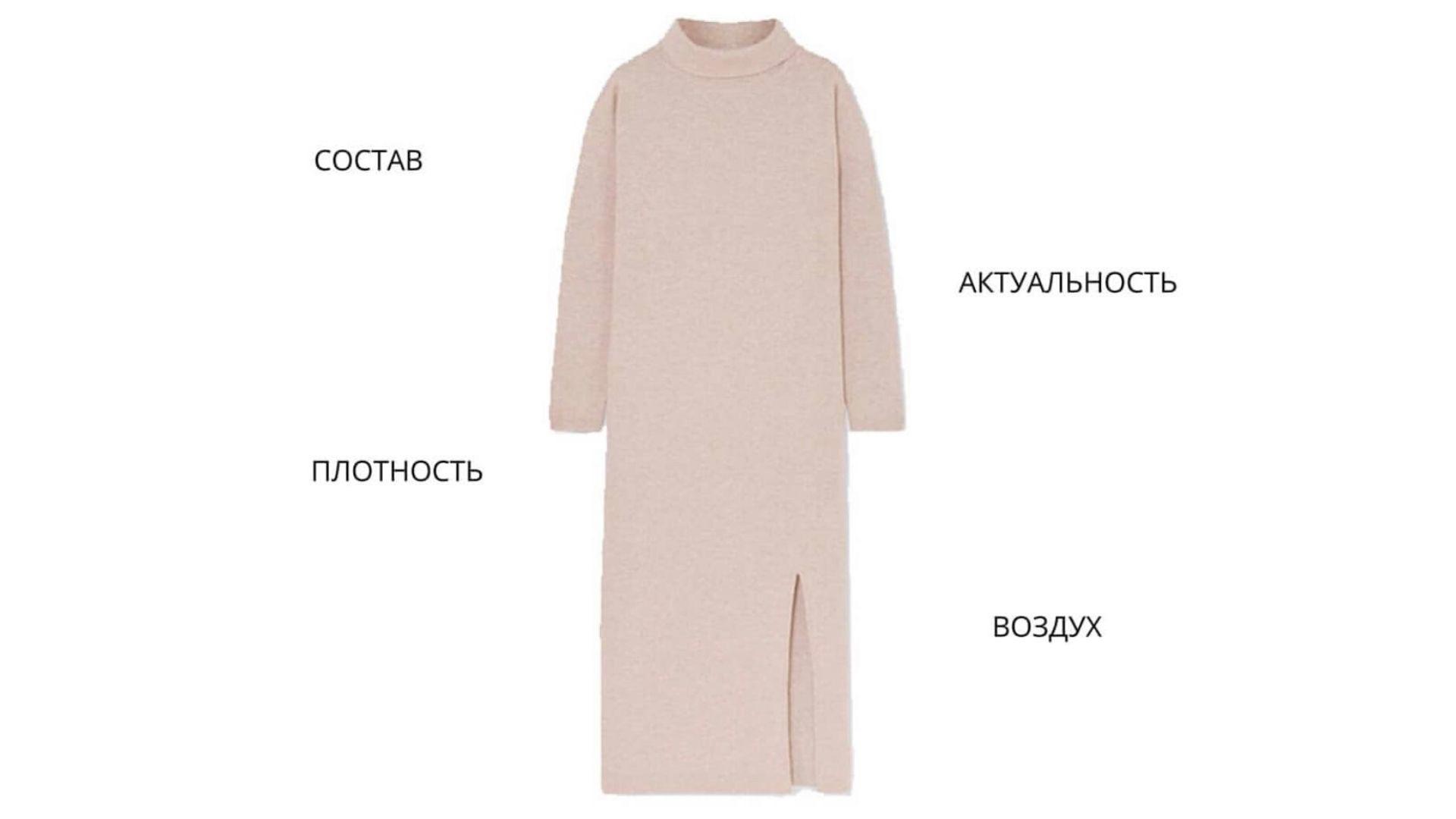 Как подобрать трикотажное платье