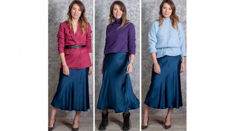 Одна юбка – разные стили