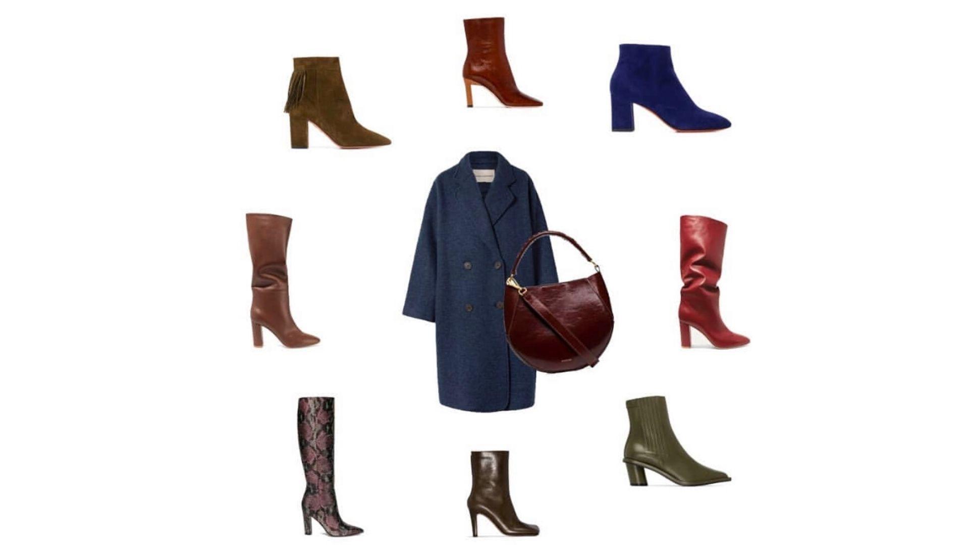 Как сочетать обувь и сумку