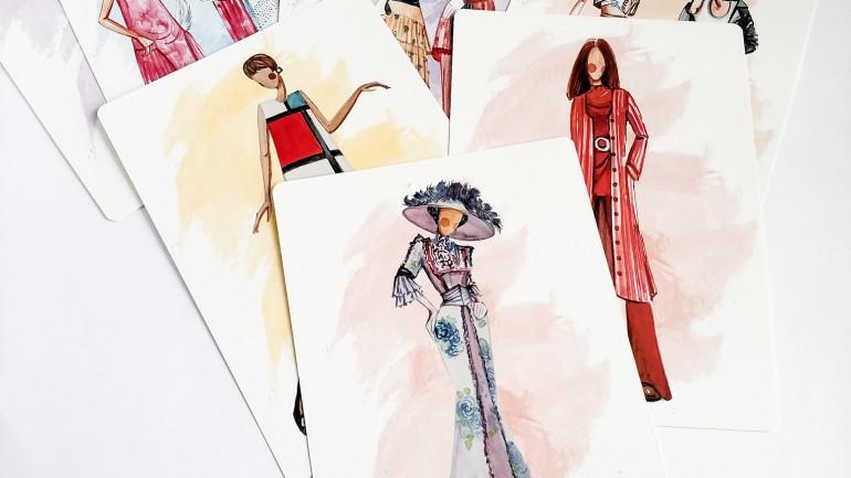 Карты по истории моды 20 века